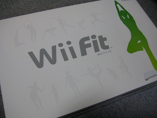Wii Fit は超面白ス。