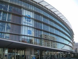 日本科学未来館のプラネタリウムは予約必死。