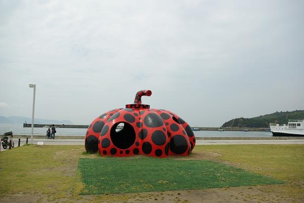 [香川旅行][直島] 屋外作品