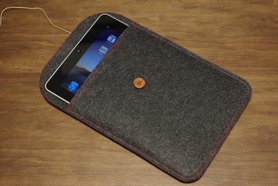 iPad用ハンドメイドフェルトケース