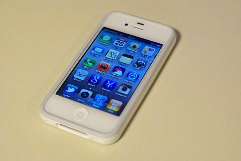 白いiPhone4買ったよ