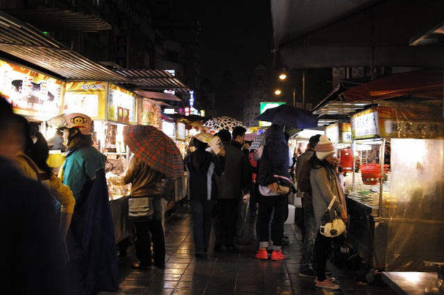 [台湾旅行] 寧夏路夜市