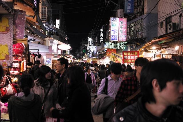 [台湾旅行] 士林夜市
