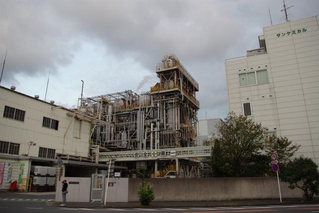 川崎工場地帯_サンケミカル配管