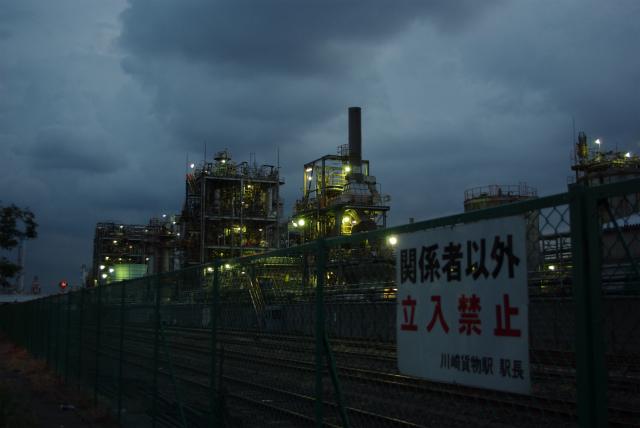 川崎工場地帯_日本触媒千鳥工場