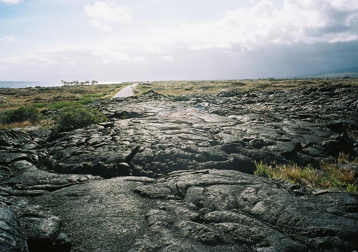 キラウエア火山の溶岩
