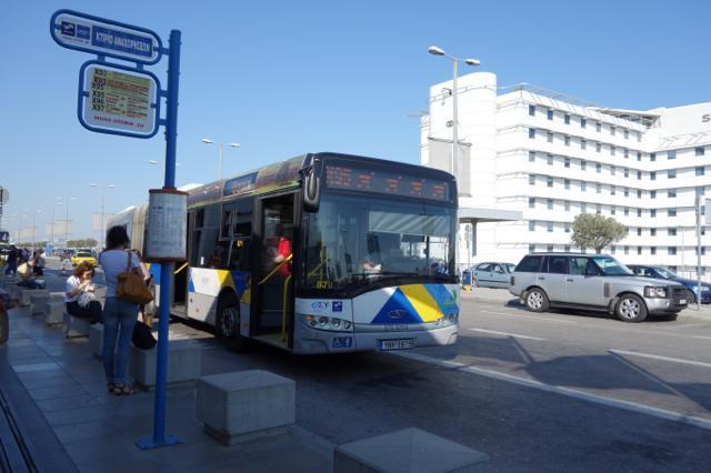 シンタグマ広場の空港バス