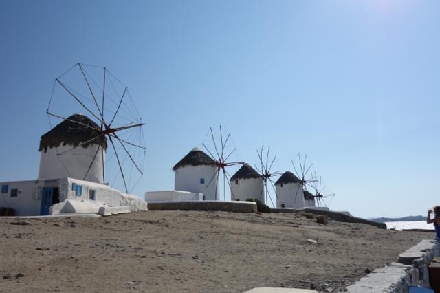 カト・ミリの風車