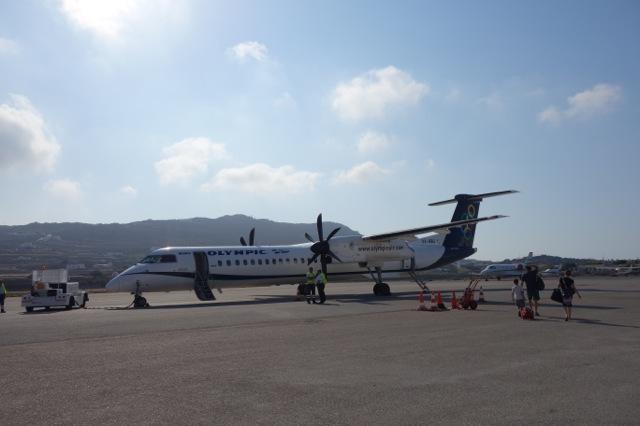 [ギリシャ旅行] ミコノス島からサントリーニ島へ