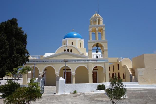 サントリーニ イアの教会