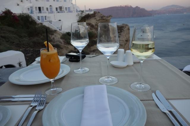 Andronis luxurysuitesのディナー1