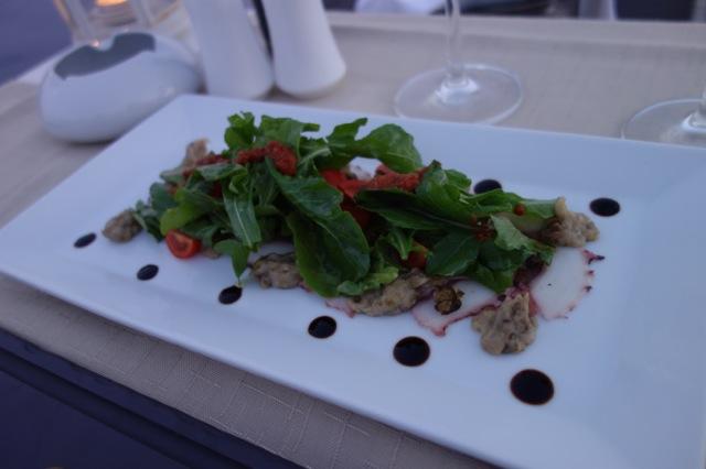 Andronis luxurysuitesのディナー3