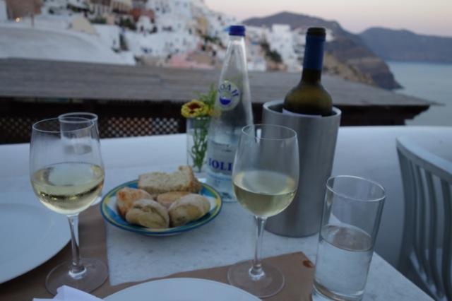 サントリーニ島イアred bicycle白ワイン