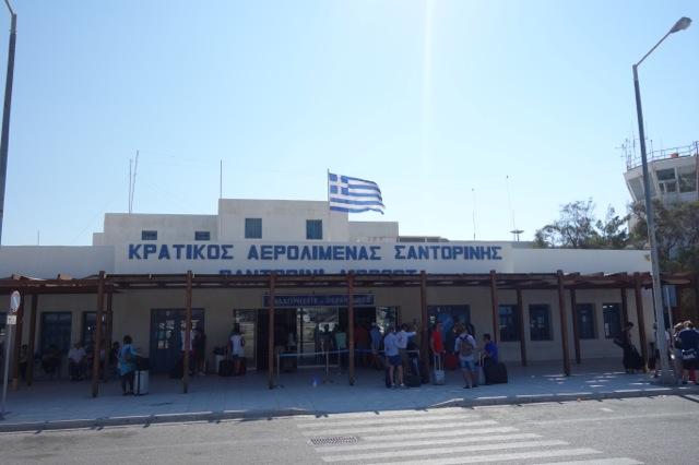 サントリーニ(ティラ)空港