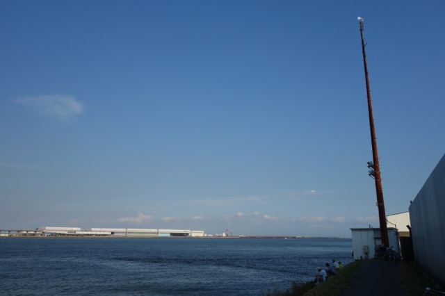 多摩川河口行き止まり