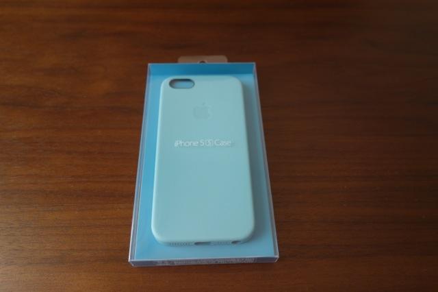 iPhone5s用のapple純正ケースを購入