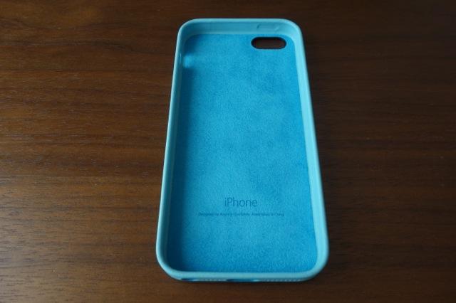 iPhone5s純正ケース内側マイクロファイバー