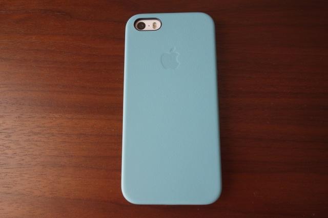 iPhone5s純正ケース装着ウラ側
