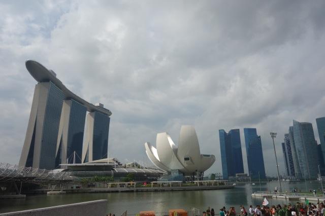 [シンガポール] マリーナベイサンズの空中庭園スカイパーク