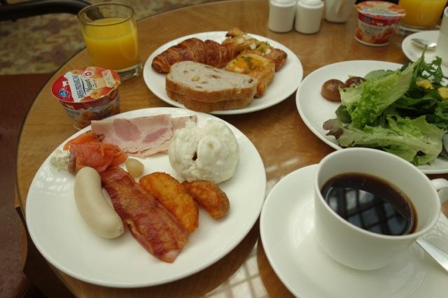 リッツカールトンの朝食(ビュッフェ)