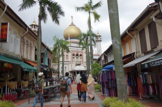 [シンガポール] アラブストリートとサルタン・モスク