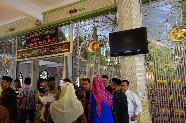 サルタン・モスク内部