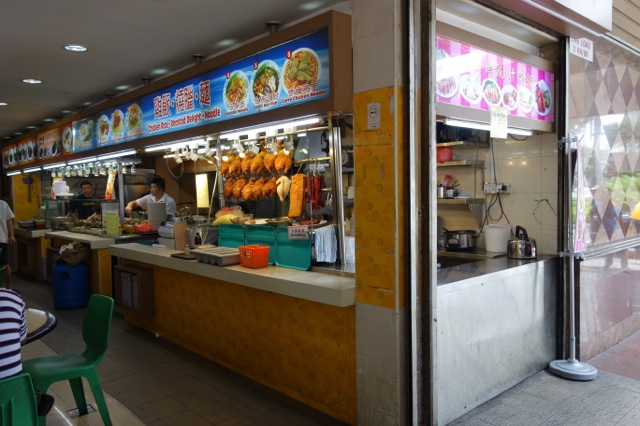 シンガポール リトルインディアのチキンライスのお店
