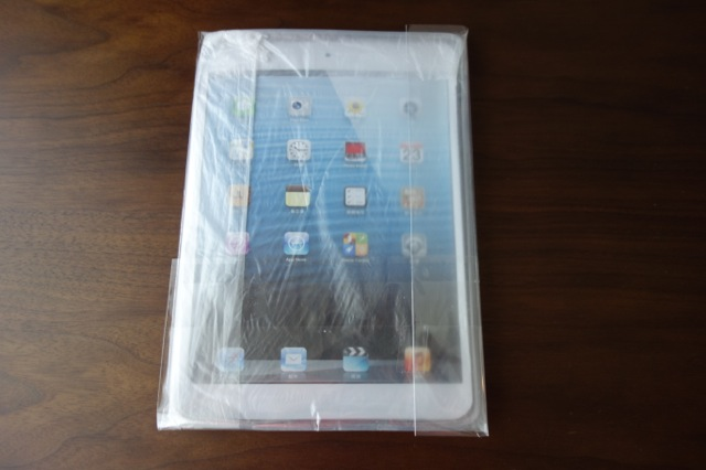 iPad Air用ソフトケース開封前