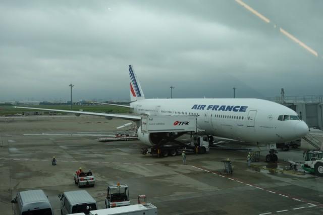 エールフランス飛行機