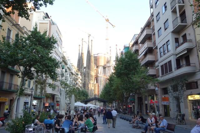 バルセロナ サグラダファミリア