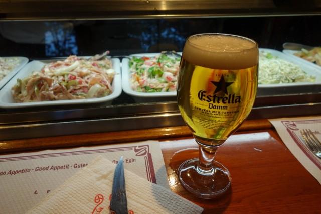 La Piazzenzaでビール