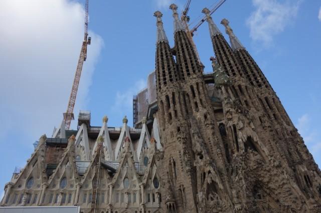 [バルセロナ] サグラダファミリアは一生に一度は訪れるべし