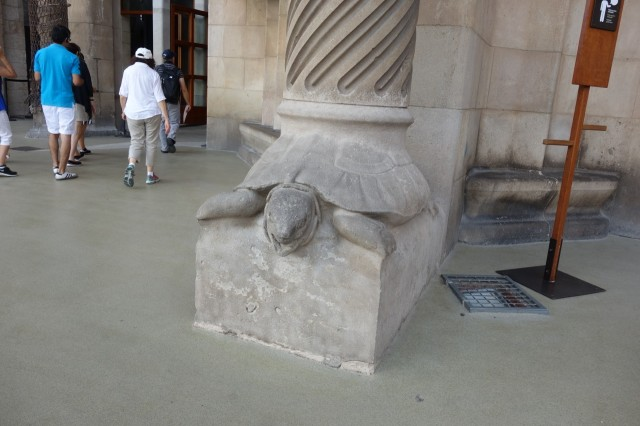 サグラダファミリア 亀の土台