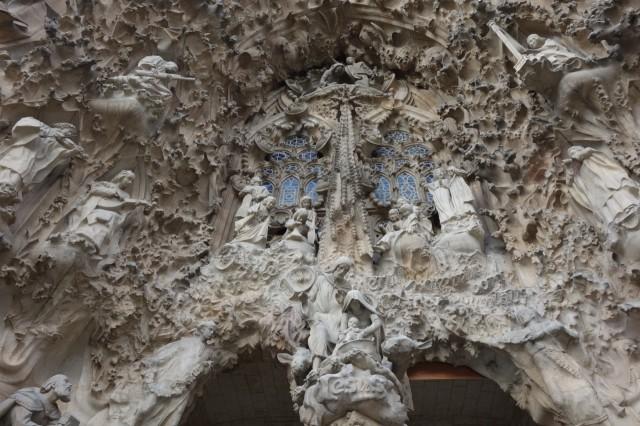 サグラダファミリア 生誕のファサード彫刻2
