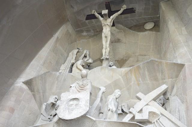 サグラダファミリア 受難のファサード彫刻