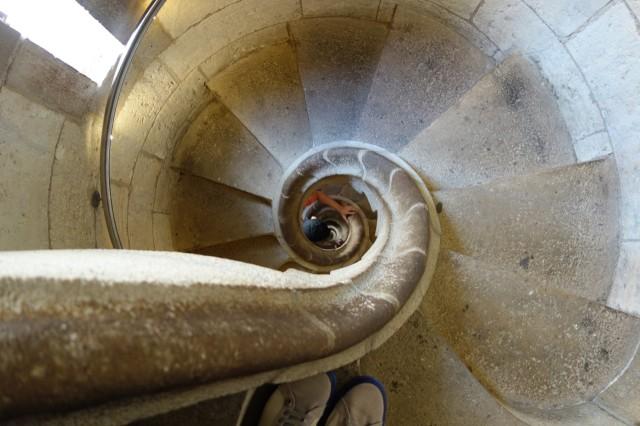 サグラダファミリア 塔のらせん階段