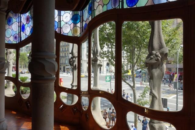 カサ・バトリョ窓