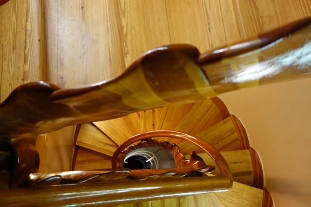 カサ・バトリョ螺旋階段