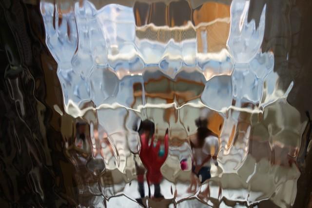 カサバトリョの磨りガラス
