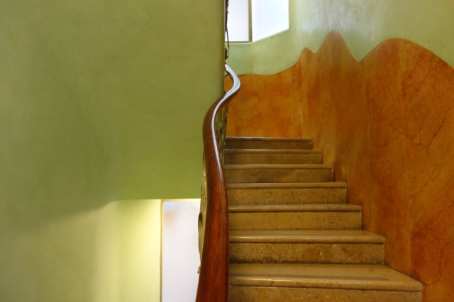 カサ・ミラ階段