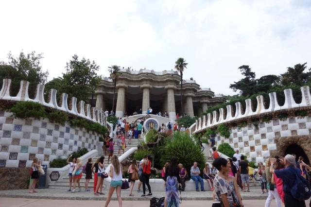 [バルセロナ] グエル公園はガウディ・ワンダーランド