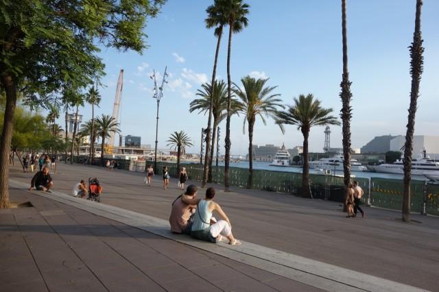 バルセロネータの港