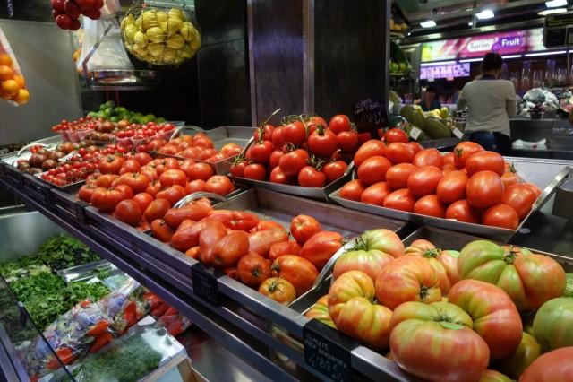 いろんな種類のトマト