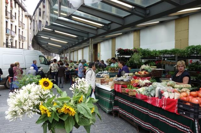 サンセバスチャンの市場