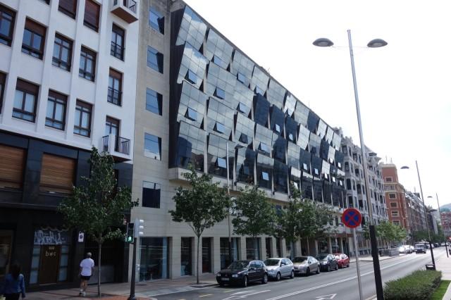 ビルバオのお手頃オシャレホテル「Silken Gran Hotel Domine Bilbao」