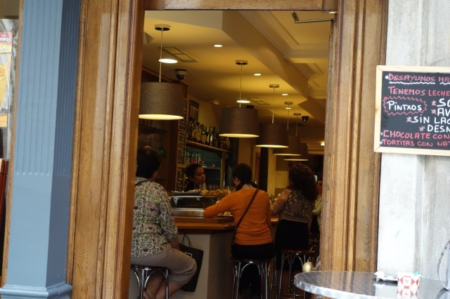 BIZVETE CAFE内部の雰囲気