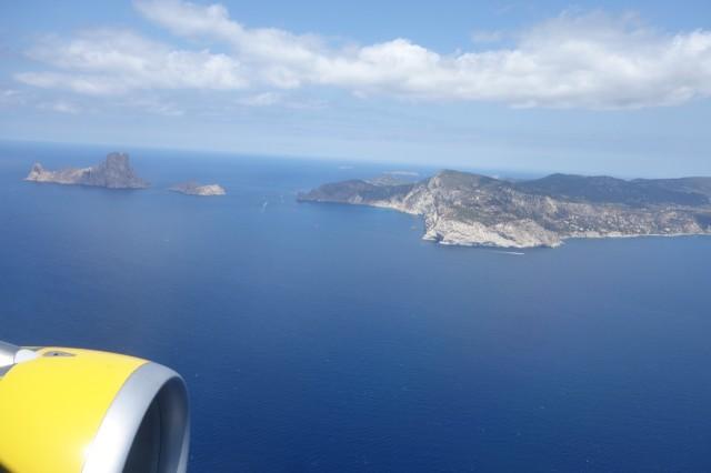 イビサ島が見えてきた!