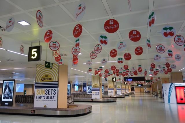 イビサ空港のBaggage Claim