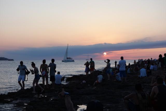 イビサ島・サンアントニの夕日