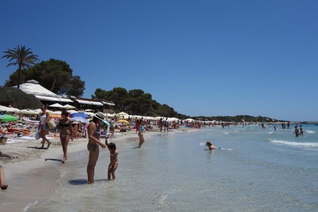 Ses Salinesビーチ